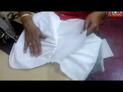 21st day CLASS  DHOTHI Stitching method in tamil   (tamil Explanation) DHOTHI For kids method -1