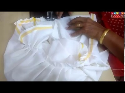 22nd day CLASS  DHOTHI Stitching method in tamil | (tamil Explanation) DHOTHI For kids method -2