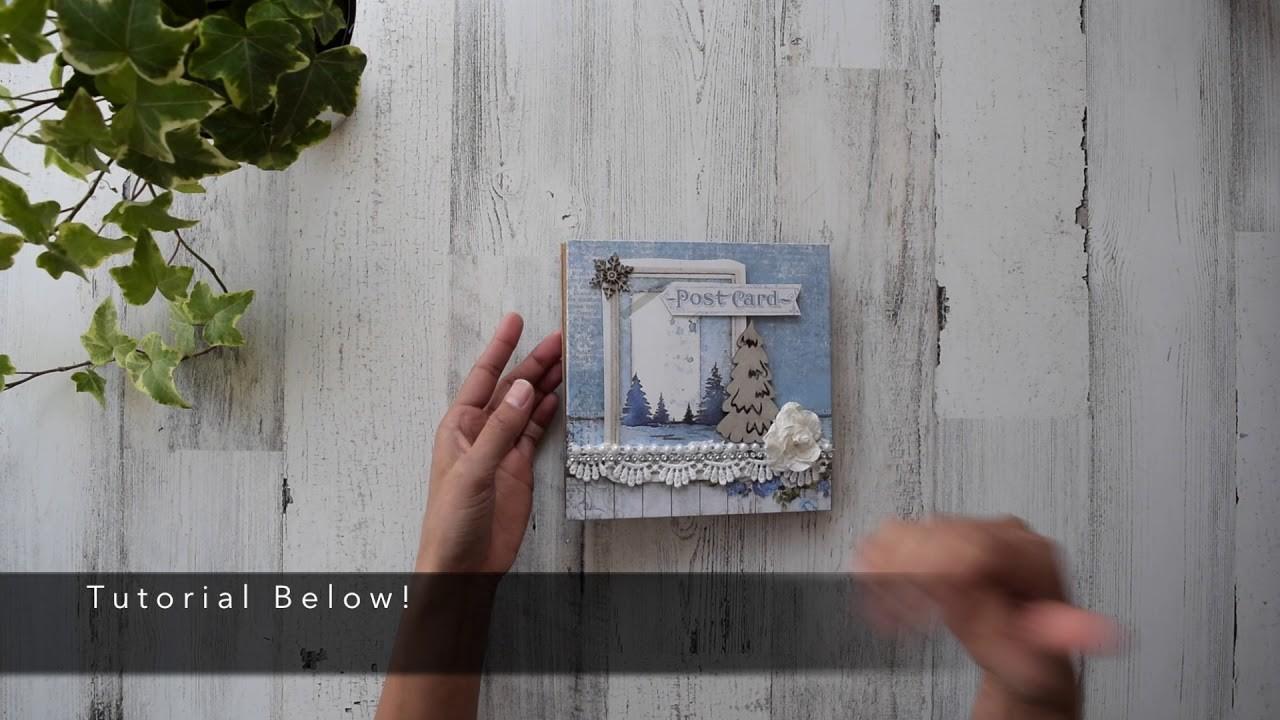 Accordion Style Mini Album | Mantle Decor | Center Piece | Fast Christmas Gift