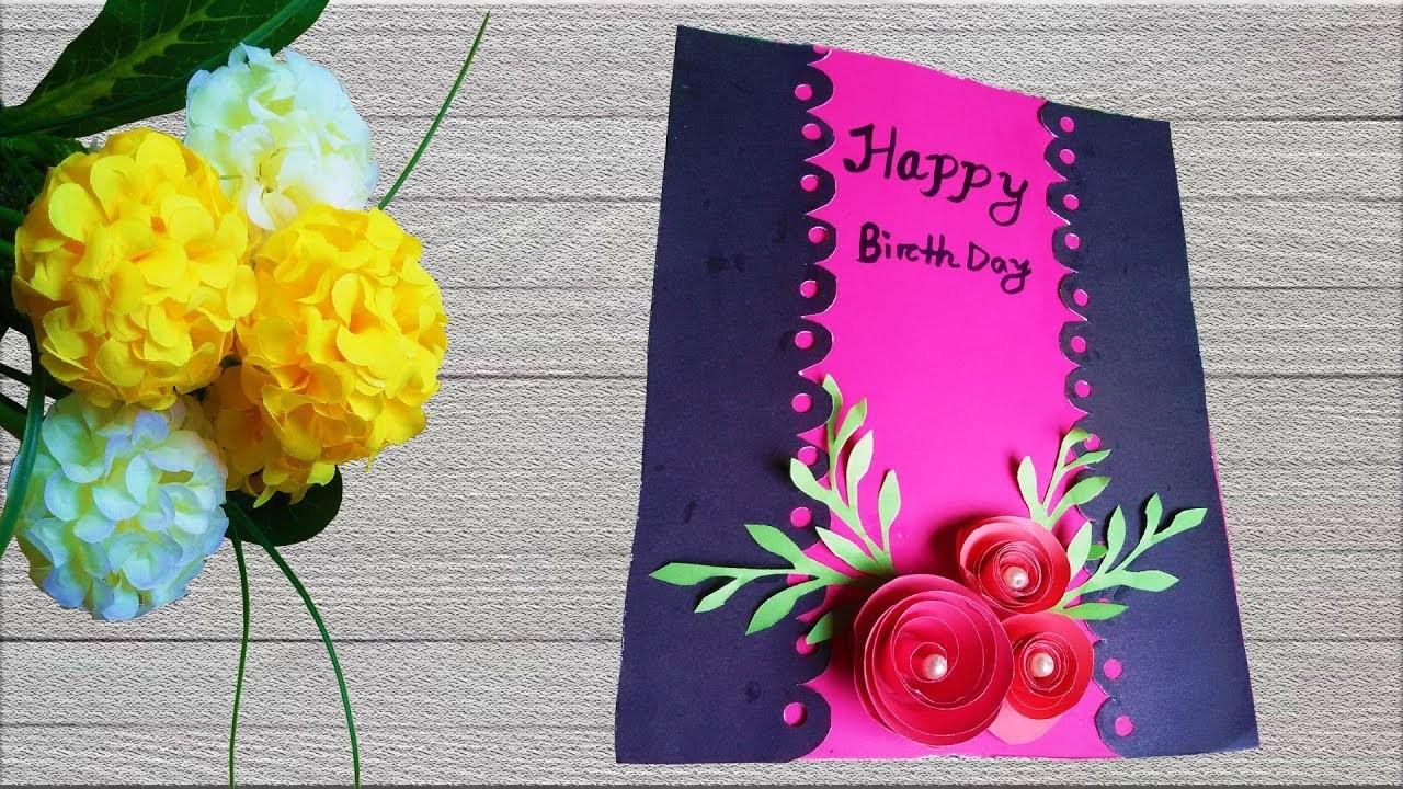 Beautiful Handmade Birthday Card Making Ideas 5