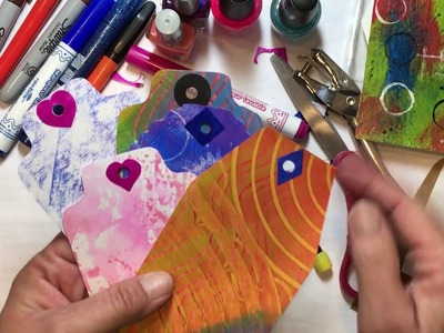 Build Your Stash and Craft, Wk 96, Diy Hole Reinforcers :)