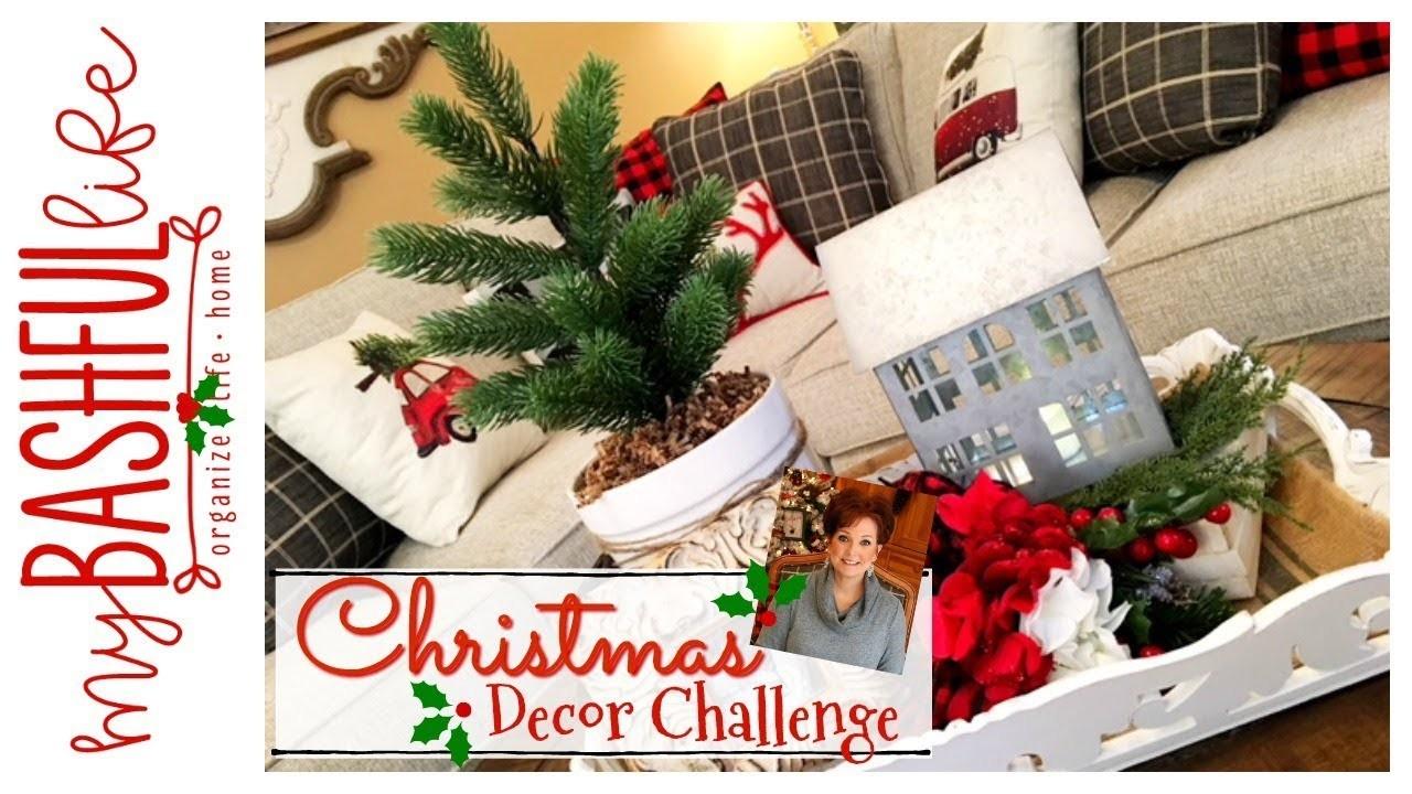 Christmas Decorate With Me. 2018 Christmas DIY & Decor Challenge