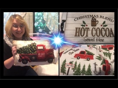 * CHRISTMAS SHOPPING HAUL 2018- DOLLAR TREE- HOBBY LOBBY- WALMART- GROCERY OUTLET *