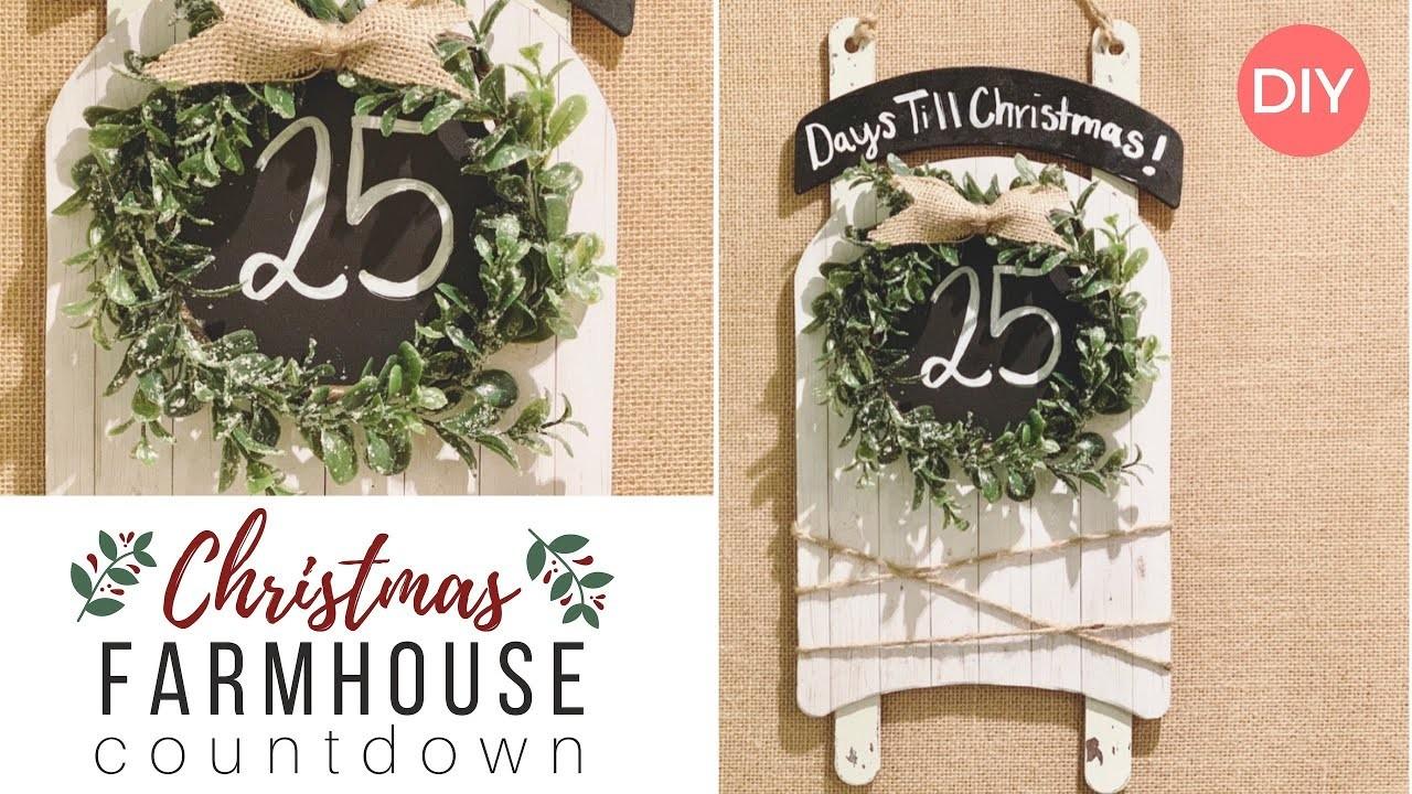 Countdown to Christmas | Christmas Decor DIY | Farmhouse Styled | Ashleigh Lauren