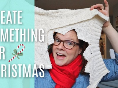 Create Something For Christmas From OLD CLOTHES!