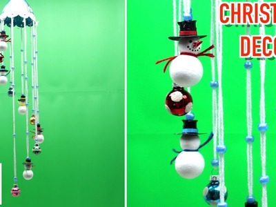 Cute Christmas Wind Chime for Home Decorations Art and Craft Ideas 2018