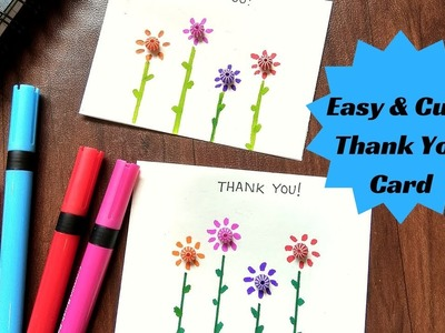 Cute & Easy Thank You Card