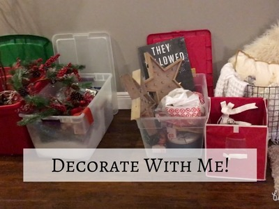 DECORATE WITH ME: CHRISTMAS 2016