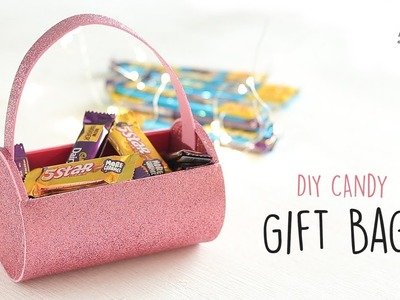 DIY Candy Gift Bag | Handmade Gifts | Gift Wrapping Ideas