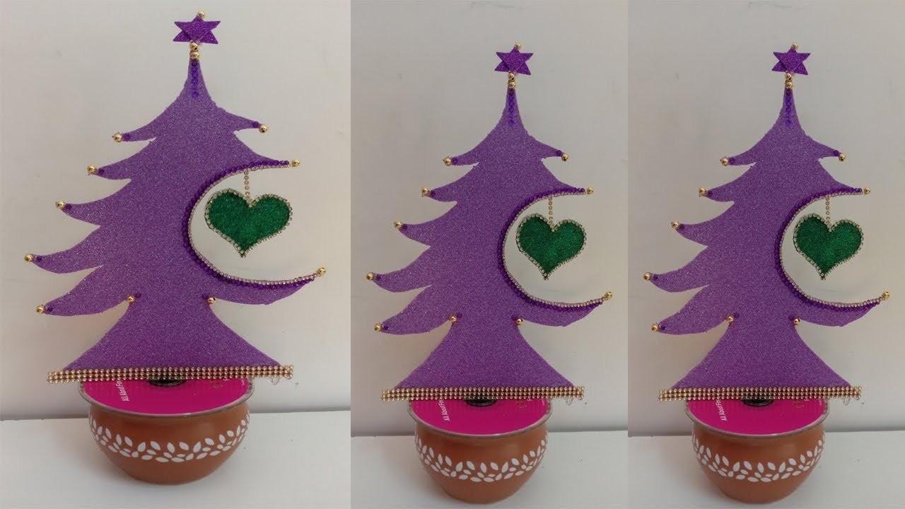 DIY Christmas tree ! Christmas Decoration ! Christmas craft ideas