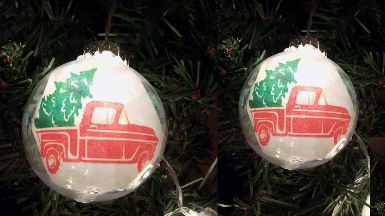 DIY Dollar Tree Red Truck Christmas String Lights