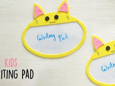 DIY Reusable Writing Pad | Kids Craft | Do It Yourself