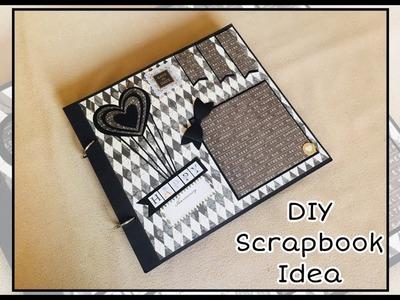 Diy Scrapbook idea| Diy Birthday Scrapbook Idea| Diy Birthday Gift Idea|