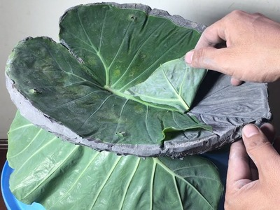 DIY Tips and Life Hacks  - Beautiful Concrete Leaves  - Most Exciting Construction Projects