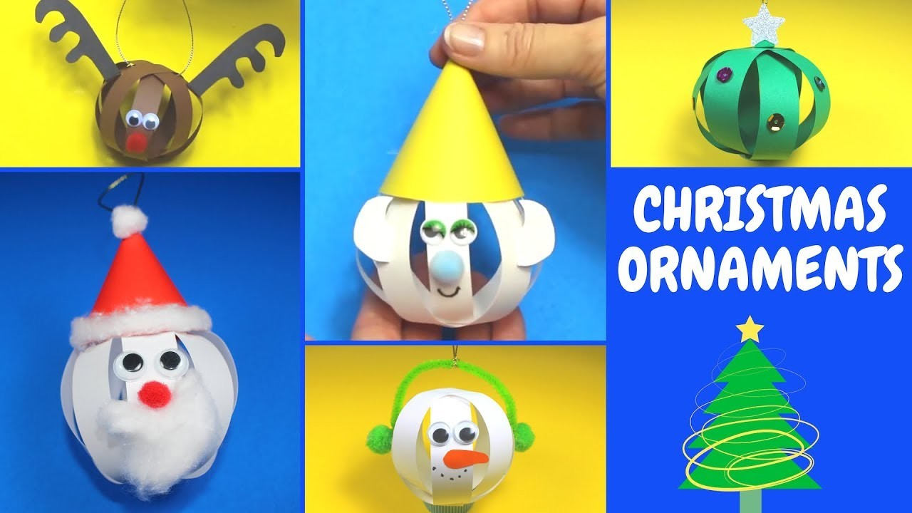 Easy Christmas Ornaments | Christmas Crafts for Kids