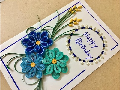 Easy Paper Quilled Card | Wall Art | Design#4