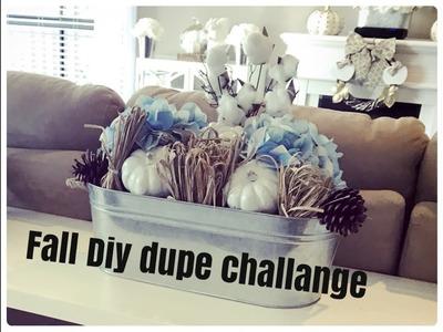FALL DIY DUPE CHALLANGE HOSTED BY KENYAS DECOR CORNER & ECLECTIC KRISTEN