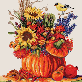 CRAFTS Fall Festival Cross Stitch Pattern***LOOK***