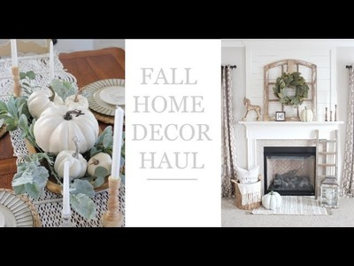 FALL HOME DECOR HAUL! ???????? Target Dollar Spot, Walmart, Hobby Lobby & more!