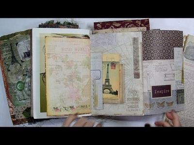 From Paris With Love |Vintage Parisian Journal|