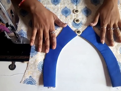 Front neck designs cutting and stitching in hindi