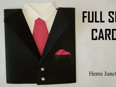 Full Suit Card | How to make Full Suit Card