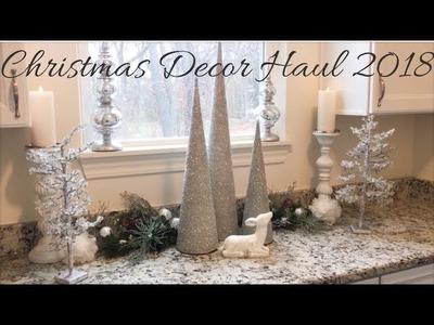 GLAM CHRISTMAS DECOR HAUL 2018