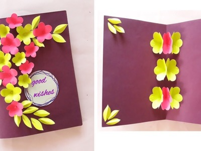 Greeting card idea for Birthday    children's day    New year etc.     Multi purpose card