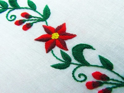 Hand Embroidery; Latest Border Line Designs by Nakshi Kantha World