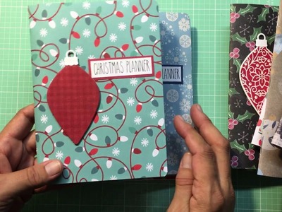 HOLIDAY CRAFT BOUTIQUE PROJECTS 2018 - CHRISTMAS PLANNERS AND STATIONERY CARD SETS Boutique