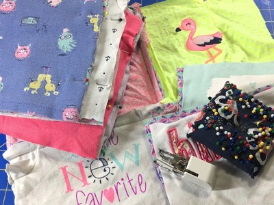 How to Make a Baby Clothes Quilt, Part 2.5