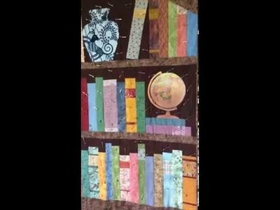 How to Make a Book Case Quilt - Fabric Selection