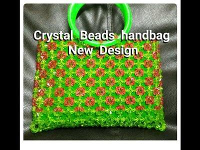 How to make Crystal Beads handbag.Beaded handbag  New  Design.  PART 1 | Nomi.Namita's crafts