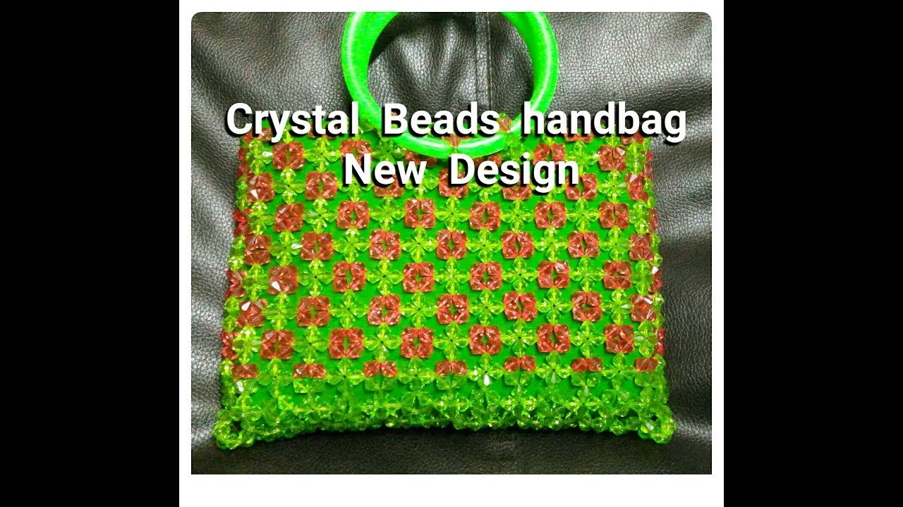 How To Make Crystal Beads Handbag Beaded Handbag New