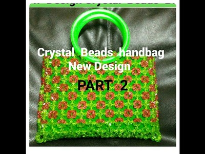How  to make Crystal Beads handbag.Beaded handbag New Design.PART 2 | Nomi.Namita's crafts