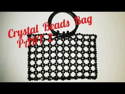 How  to make Crystal  Black  Beads Bag.  New  Design.PART 2    Nomi.Namita's crafts