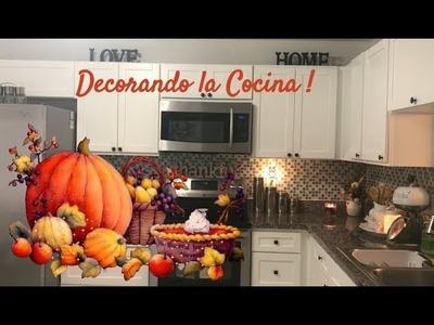 Ideas para Decorar la Cocina en Otoño. diy decoracion casa