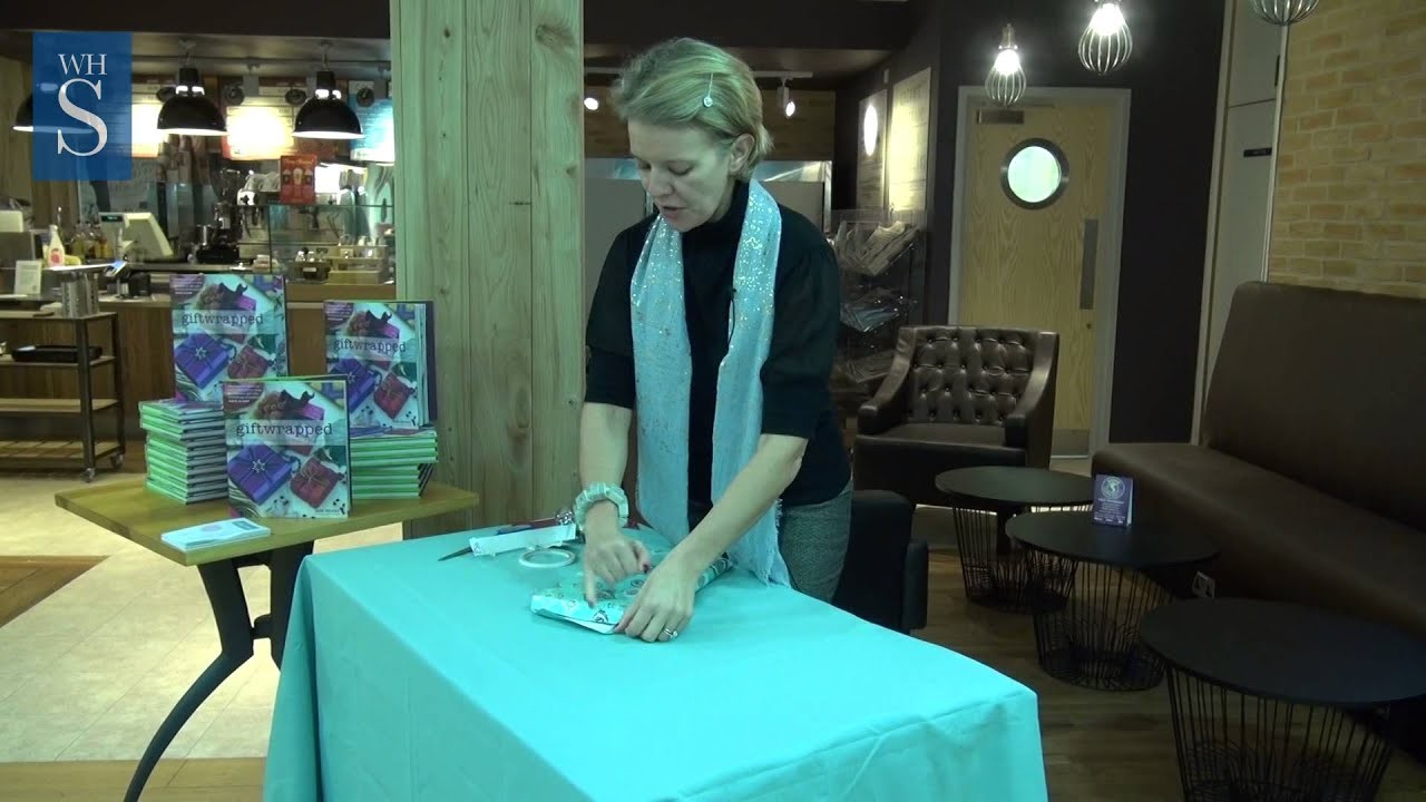 Jane Means Shows us How to Wrap a Slim Box