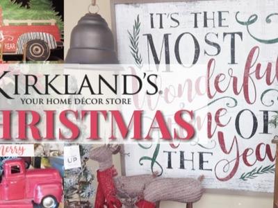 Kirkland's Christmas 2018 Shop With Me | Christmas Trends, Decor, and Tree Ideas