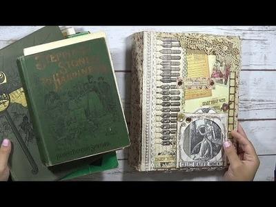 Large Antique Junk Journal