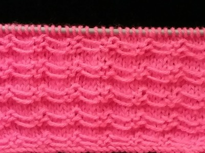 Latest Easy Knitting Design.Pattern in hindi