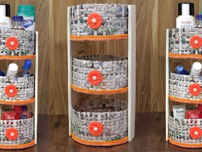 Multi ! Storage box from waste Material || Best out of waste || Room Organization and Storage Ideas