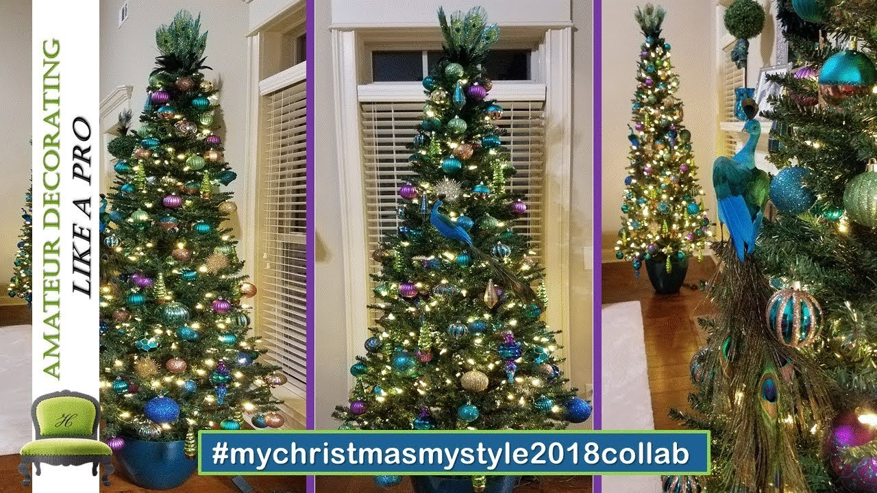 My Christmas My Style 2018 - Peacock Theme. Video #2 of 4