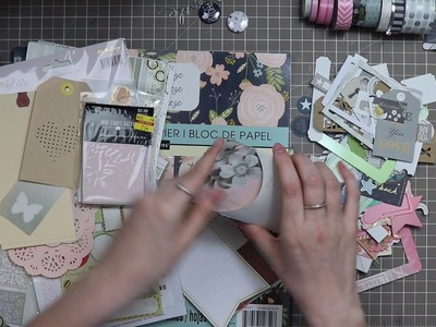 October Homemade Scrapbook Kit Share. How To Kill a Kit with Style
