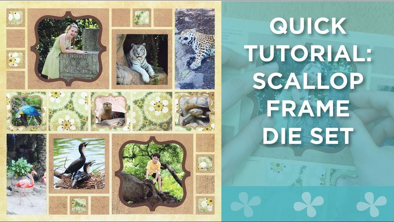 Quick Tutorial: Scallop Frame Die Set