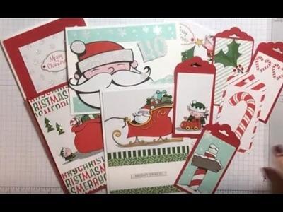 Santas Workshop Card Pack Cards and Tags