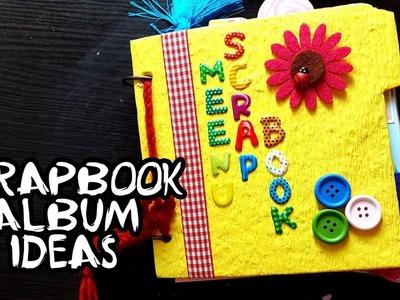 Scrapbooking | DIY Scrapbook | Scrapbook album ideas #2 | scrapbook for project