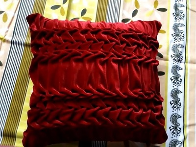 Square shape Cushion cover part 8 (Hindi Easy Making)