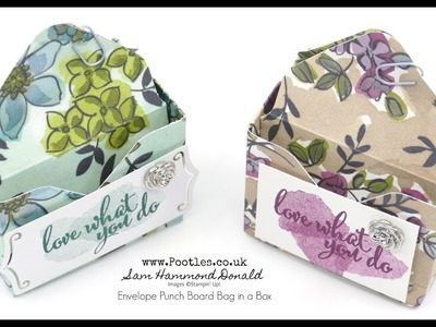 Stampin' Up! Bag in a Box Envelope Punch Board Tutorial using Share What You Love