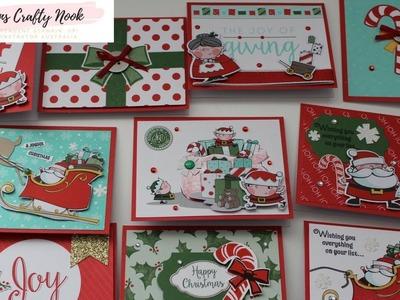 Stampin' Up! Santa's Workshop Sneak Peek Memories and More Cards